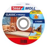 Tesa P-list 55703-00101-00 Kuminen tiivistenauha EPDM, 100 m, 9 mm x 5.5 mm