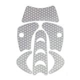 KASK WAC00001.055 Heijastinsarja PLASMA HI VIZ -kypärään Harmaa