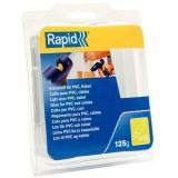 Rapid 40107358 Liimapuikot PVC/kaapeli, 125 g,  Ø12×94 mm