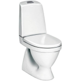 Gustavsberg Nautic 1500 WC-istuin valkoinen, S-lukko