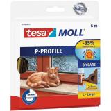 Tesa P-list 05390-00101-00 Kuminen tiivistenauha EPDM, 6 m, 9 mm x 5.5 mm