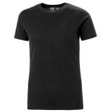 H/H Workwear Manchester T-paita musta XS