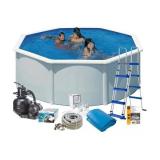 Swim & Fun 2700 Allaspaketti Ø3,5 x 1,2 m, 10 102 l