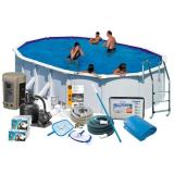 Swim & Fun 2748 Allaspaketti 7,3 x 3,75 x 1,32 m, 28 217 l