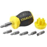 STANLEY 0-66-357 Ruuvitaltta mukana ruuvikärjet, ilman räikkätoimintoa
