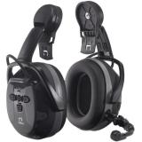 Hellberg Xstream LD Kuulosuojain puomimikrofoni, Bluetooth, ympäristönkuuntelu, kypäräkiinnike