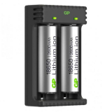 GP Batteries 18650 Akkulaturi Li-ion 2 latauskanavaa