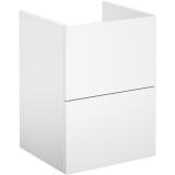 Gustavsberg Graphic Base Pesuallaskaappi valkoinen, laatikoilla 45 cm