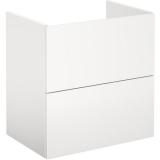 Gustavsberg Graphic Base Pesuallaskaappi valkoinen, laatikoilla 60 cm