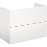 Gustavsberg Graphic Base Pesuallaskaappi valkoinen, laatikoilla 80 cm