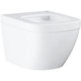 Grohe EuroCeramic WC-istuin seinään kiinnitettävä